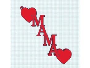 mama hearts keychain keychains mama mom gurbaksh hearts keychain keychains keyring love love mom love mama mama mama love mama hearts mom mothersday mothers day techiebaksh