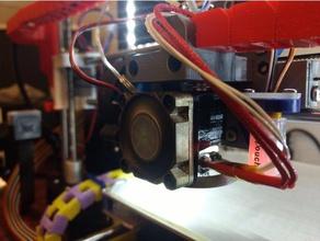 e3dv6 40 mm étendue de conduits de ventilation L'imprimante 3d de pièces