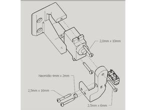 bed auto leveling agraber 30i 3d printer parts agraber 30i graber i3 prusa i3
