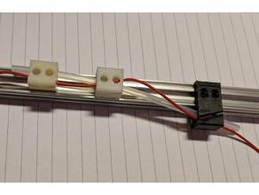openbeam cableguides parts 15mm openbeam cableguide cable clip openbeam openbeam1515 openbeam 1515