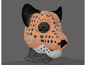 fursuit- puppet-head base - version 53 - lion costume animal animal skull cat cosplay costume costume helmet furry fursuit fursuit-head fursuit head head head base lion mask skull