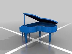 dioramas elements grand piano decor coda diorama grand instruments lanna living living room model music musica musical instrument piano pianoforte pianoforte coda room salotto sergio sergio lanna strumenti strumenti musicali