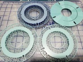 customizable sample spool 3d printer accessories filament sample sample sample filament spool sample holder spool