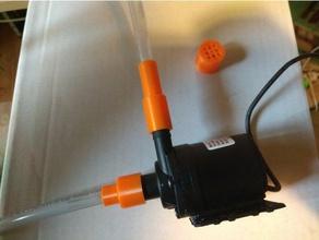water pump 12v 800l h reduction 6mm hose + filter+simple sprinkler outdoor & garden 12v pump 12v water pump hose hose reduction pump water pump