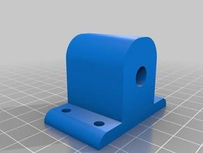 8mm linear shaft holder 8mm lineer mil tutucu 3d printing 3dprinter 8mm cnc holder linear lineer shaft tutucu