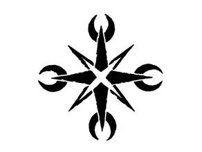 mythodea - schwarzes eis symbol 2d art black ice conquest larp mythodea schwarzes eis