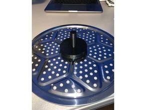 printdry dremel spool adaptor upper tray 3d printer accessories 3d45 3d45 filament 3d45 filament adapter dremel 3d45 dremel digilab 3d45 printdry spool holder