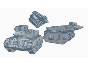 dkok mega missle launcher vehicles 40k dkok warhammer 40k
