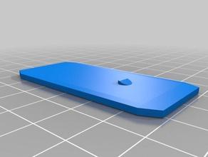 enganche para pistas hotwheels La impresión en 3d