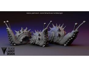 sea maggot - snail monster toy & game accessories 28mm darkest dungeon dnd flail snail giant snail monster rpg sea maggot slug snail