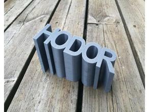 another hodor doorstop 3d printing doorstop doorstopper got hodor hodor hold door