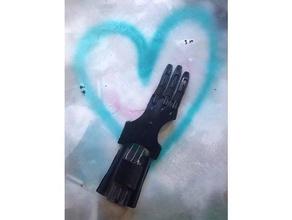 modified phoenix hand 3 fingers enable phoenix hand printable prosthetics prosthetic prosthetic hand