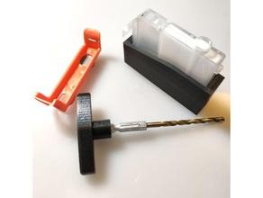 cli-42 drill guide tools 5 32 canon cartridge cli-42 cli-8 color drill guide inkjet precisioncolors printer refill tool