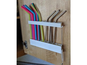 reusable straw holder kitchen & dining cabinet container drinking straw straw straw holder