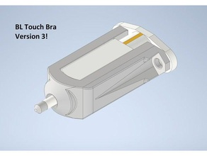 bl touch bra protecting your bl touch's nips since 2019 3d printer parts bl touch bl touch bra bl touch nip shield