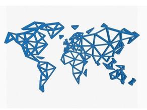 geometric world map 2d art geometric geometric map geometric world geometric world map map world world map