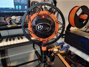 blue snowball snowball ice shock mount audio blue ice microphone mount shock mount snowball