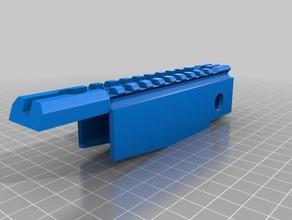 picatinny 21mm rail marui p90 sport & outdoors marui p90 airsoft parts picatinny rail rail