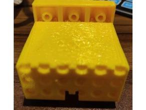 lego compatible 28byj-48 stepper motor mount electronics 12v stepper 5v stepper lego lego motor lego brick lego compatible motor motor holder stepper stepper holder stepper motor stepper mount