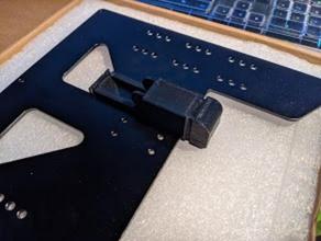 em8 gulfcoast robótica clone y transporte underbed de cabo adaptador Impressora 3d de peças em8 a cama gulfcoast robótica