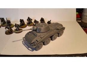 sdkfz 234 2&x puma escala 28mm+divisão de alinhamento de furos brinquedos & games bolt action k47 konflikt 47 ww2