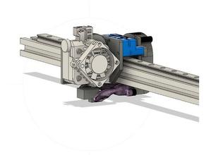 e3d titan aero mgn12 x carriage 3d printer parts blv mgn12 e3d titan mgn12 titan aero x carriage