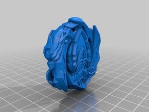 achilles a5 hasbro standart beyblade burst 3d printing