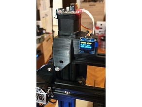ender 3 cr10 closed loop stepper bigtreetech s42a z axis holder 3d printer parts bigtreetech closed loop closed loop stepper cr10 creality creality cr-10 creality ender 3 ender3 ender 3 s42a servo servo42a servo mount stepper stepper motor stepper motor mount