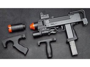 maruzen m-11 ingram airsoft gun tactical custom sport & outdoors airsoft airsoft accesories airsoft attachment ingram m-11 m11 maruzen