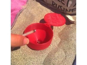 beach ashtray - cendrier plage ashtray beach cendrier cigarette holiday outdoor ashtray plage summer sun vacances