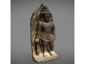 hindu deity scans & replicas 3dprintable 3dprinter 3dprinting 3dscan 3dscanner 3dscanning asian carved god goddess hindu hinduism indonesia mythology religion sculpture statue stone