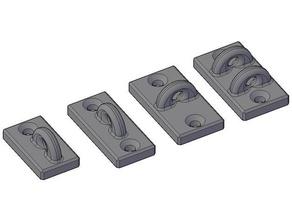 wall mount - terrace door tool holders & boxes prusa prusa i3 mk3 terrace terrace door wall wall hook wall mount wall mounted