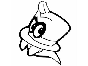 printable super mario odyssey cappy coloring pages