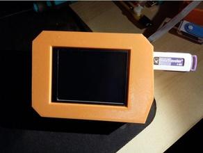 mks tft 32 case front panel 3d printer accessories case lcd case mks tft mks tft32 tactile tft tft screen