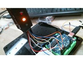 3dx semaforo gadget Stampante 3d ardiuno breadboard codice ponticello led