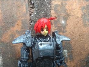 fallout joe anime bebek kafası oyuncaklar ve oyunlar aksiyon figürü anime karakteri mafsallı fallout