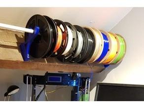 spool holder rack 20mm bar 3d printer accessories filament spool holder filament spool rack spool brackets spool holder spool rack spool rack brackets