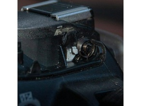 nikon d3100 flash spring lock hook camera d3100 hook nikon part repair spring