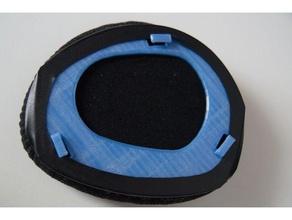 sennheiser hdr 175 earpad holders - both sides audio earpad earpad sennheiser headphone earpad sennheiser sennheiser hdr 175