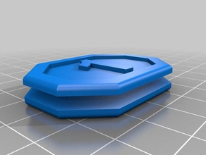 pathfinder numbered initiative trackers 1-20 3d printing dnd gaming initiative tracker numbered pathfinder