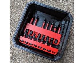 bit holders milwaukee slim packout tool holders & boxes hex bit hex bit holder hex bit storage milwaukee milwaukee packout milwaukee tool milwaukee tools packout tool organizer tool storage