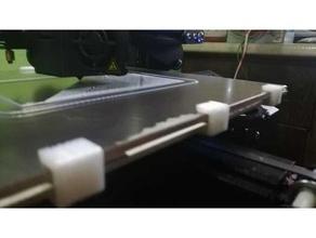 clip para cristal 4mm ender 3 pro 3d printer accessories clip cristal ender 3 glass bed