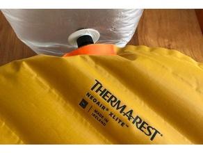 diy ultralight mat pump sack - tpu inflating nozzle sport & outdoors mat pump mat pump sack pump sack thermarest