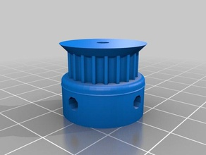 pully 3mm innen gt3 pully 20t 3d printer parts 20t gt2 gt3 pully