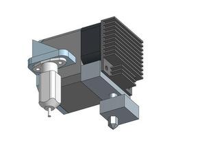 folgertech prusa i3 ft5 r2 bltouch mount 3d printer parts folgertech ft5 folgertech prusa i3 ft5 ft5 r2 prusa 2020 prusa acrylic prusa i3