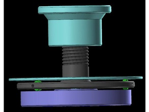 filament dehydrator spool adapter 3d printer accessories artillery artillery sidewinder artillery swx1 dehydrator filament dehydrator sidewinder spool adapter