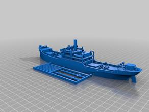 ww1 us cargo ship efc 1001 'ferris' 1 350 scale vehicles cruel seas