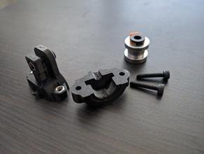 b2d extruder bowden exit 175 3d printer parts b2d b2d extruder bowden bowden adapter