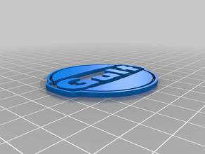 a gulf racing 3d logotipo sinais e logotipos golfo a corrida