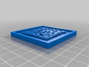 qr code 1 3d printing 3d pixel 3d qr pixel qr code